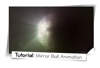mirror ball animation