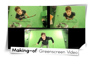 Making of greenscreen video