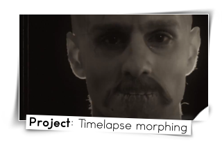Project Timelapse morphing