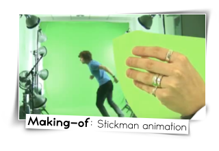 making of stickman animation